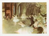 The Rehearsal of the Ballet on Stage, 1873-74