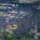Waterlilies: Green Reflections (det.)