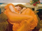 Flaming June (detail)