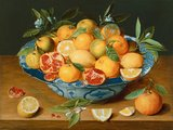 Still Life with Lemons, Oranges and a Pomegranate