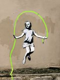 Girl – North 6th Avenue, NYC (graffiti attributed to Banksy)